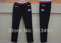men's fashion English style sport pants winter sweatpants casual pant black/grey plus size XXXXL H3711