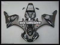 black fairings for YAMAHA YZF-R6 2003 2004 2005 YZF R6 03 04 05 YZF600 YZFR6 2003-2005 ABS fairing kit + 7 gifts e7311
