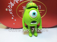 wholesales! Genuine new fashion 4gb/8gb/16gb/32gb one eye monster USB 2.0 Flash Memory Stick Drive U Disk Festival Thumb/Car/Pen