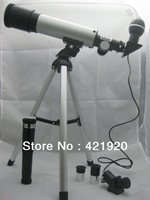 New 120X F36050M Monocular Refractor Space Astronomical Telescope Spotting Scope+USB Electronic Eyepiece(Upgraded version)