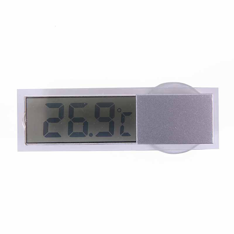 Digital LCD Display Auto Car Indoor Inside Home Household Thermometer Sucker(China (Mainland))