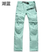 Outdoor anti-uv quick-drying pants thin women's perspicuousness outdoor female quick dry pants ride pants