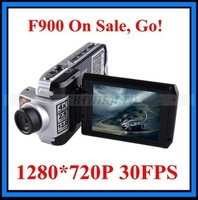 Promotion !New arrival Car camera Recorder F900 TFT Screen Real HD1280*720P 30FPS Free Shipping