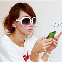(Minimum order $ 10) 20368 2014 new women coating retro sunglasses big box glasses wholesale factory girl gift accessories