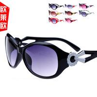 (Minimum order $ 10) 2014 new wholesale brand women fashion coating sunglasses fashion sunglasses purple lady girl gift 20376