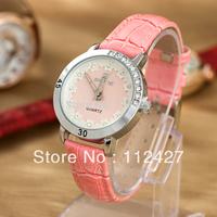 2013 quartz watch women luxury leather strap watch diamond rinestone brand analog watches for women dress watches -TL002