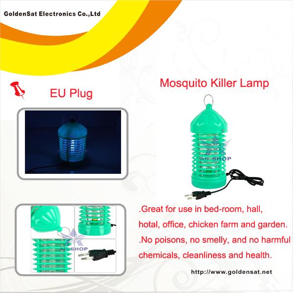 220V fotocatálise eletrônico Insecto Pest Mosquito Mosquito Bug Moth assassino Fly Catcher Armadilha lâmpada plug YTK0756 UE(China (Mainland))