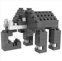 Free shipping!DIY High quality loz mini diamond blocks for kids,models & building toys for children,animal zoo,wholesale