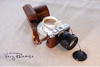 Genuine leather camera bag fuji xm1 xa1 fuji camera bag fuji x-m1 camera case