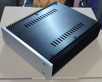 2107 Full Aluminum Power Amplifier Enclosure Headphone Amp Preamp Case DIY