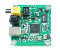 CM6631A USB to Coaxial and Optical Fiber SPDIF I2S Converter 24bit 192kHz LJM