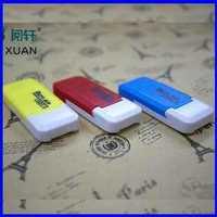 Free shipping USB 2.0 micro sd card reader memory card reader,tf card readerRY5004
