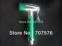 Bathroom Products Hi-Q Plastic Handheld Bidet / Portable bidet Muslim Shattaf Diaper Sprayer  TS158-4 green