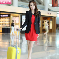 2013 candy color slim small suit jacket women female blazer
