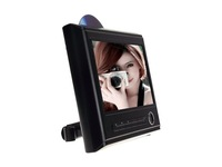 9 Inch Slot-in Headrest DVD Player with AV-in/out and FM/IR transmission function,support 720P/MPEG-4 video and 8G SD card