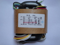 115V 230V 50W High Quality Audio R Core Transformer 15V 15V 9V 9V