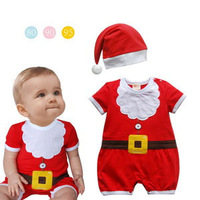 2013 new girls christmas costumes with hat Christmas dress girls princess dress winter promotion for Chrismas free shipping