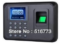 "Hot Sale ! 2.4"" Color TFT Biometric Fingerprint Time Clock Recorder Attendance Machine USB Drive Download"