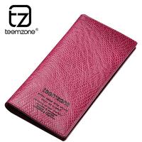 new brand purse man wallet men genuine leather 16 slot credit card holder mens wallet carteira masculina cartera hombre monedero
