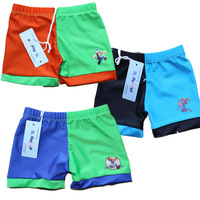 Baby swimwear swimming trunks series boxer swimming trunk 0 - 2