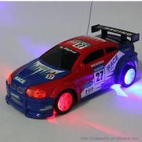 Remote control toys car electric flash car automobile race tyre with light drift car off road unique toys for children