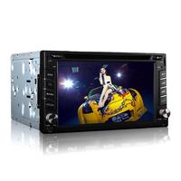 "WIFI/3G 6.2"" LCD Screen Car DVD Player+ISDB-T+IPOD+Bluetooth+FM/AM Radio+GPS Navigation+1080P Playing+USB/SD+Rear View Function"