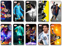 new The Barcelona soccer star messi cover for iphone5 5s 5G 5th free shipping 10pcs/lot