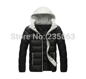 Brand Men's Winter Jacket Hood Waterproof Breathable Outdoor Coat Размер XL, XXL, XXXL, 4XL