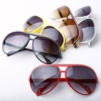 Fashionable casual glasses large sunglasses elegant women's sunglasses anti-uv sunglasses male