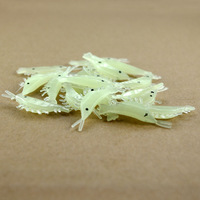 Free shipping, 100pcs cheap prices, simulation shrimp. Bionic Lure