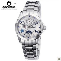 Free shipping CASIMA 2805 fashion lady quartz watch calendar week day and night 50M waterproof watch