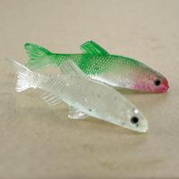 Free shipping, 30pcs cheap prices realistic soft bait small carp, fake bait