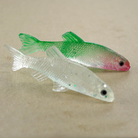 Free shipping, cheap prices realistic soft bait small carp, fake bait