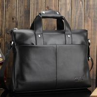 Mike man bag business handbag cowhide male bag briefcase shoulder bag file bag travel package