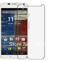 6pcs New Clear glossy Screen Protector Cover Film For Motorola moto X phone xphone