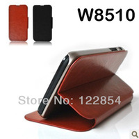For philips W8510 phone case mobile phone case for philips w8510 protective case High Quality Business leather case