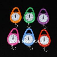 1 pcs Portable Hook hanging Spring Scale digital Pointer Measure 5kg load