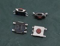 100pcs 5pin Notebook Touching Switch Button Microswitch, 6x6x3.1mm