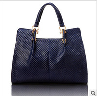 Genuine leather women's handbag 2013 fashion female leather bag  messenger bag designer brand bags