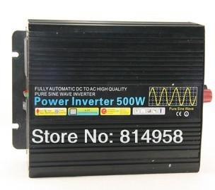500W/500W 24Vdc to 220V ac Pure Sine Wave Power Inverter (500w/500w peak power) Free shipping(China (Mainland))