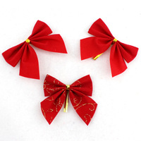 FREE SHIPPING!!!Christmas decorations, Christmas tree ornaments, bowknot