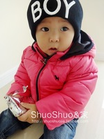 kids baby infant children with thick cotton-padded clothes coat winter coat to keep warm winter jacket down jacket