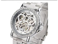 Hollow Mechanical Watches, Cartoon Female Watches,Fashion Watches, Luxury Mechanical Watches