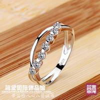 Nscd jewelry female finger wedding ring women's ring belt certificate dr04 woman gift girls