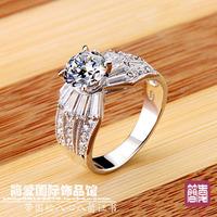 2014 jewelry female finger ring  ring wedding ring women's ring belt certificate dr0163