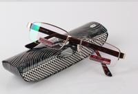 GDTitanium alloy Non spherical reading glasses+1.0 +1.5 +2.0 +2.5 +3.0 +3.5+4.0