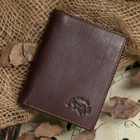 2013 new retro style 100% genuine leather man's wallet big capacity head cowhide man card holder vintage style free shipping