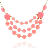 New 2013 on sale fashion handwork acrylic short necklace 915