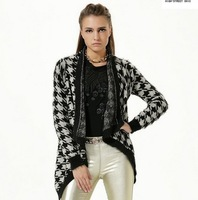 Женская одежда из шерсти 2013 women's sweet fashion elegant loose plus size stand collar woolen overcoat outerwear