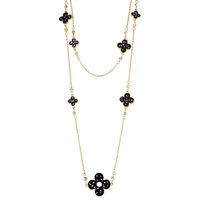Accessories shell four leaf clover multi-layer long necklace female long necklace design accessories